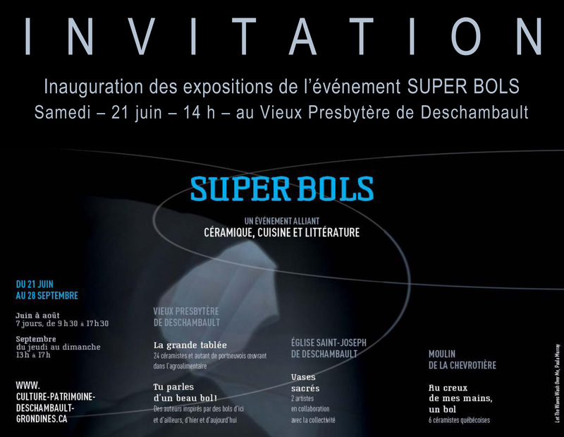 INVITATION - Super bols - 2014