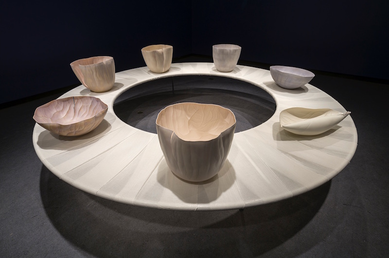 "You Are Me | 2016 | 40""h x 11'w circle 